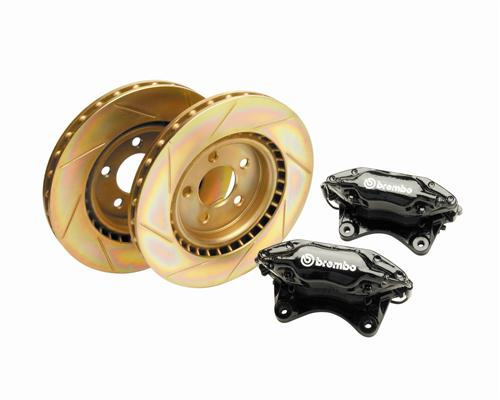 1994-04 Mustang 2000 Cobra R Front Brake Rotor Kit, M-2300-X - Picture of 1994-04 Mustang 2000 Cobra R Front Brake Rotor Kit, M-2300-X