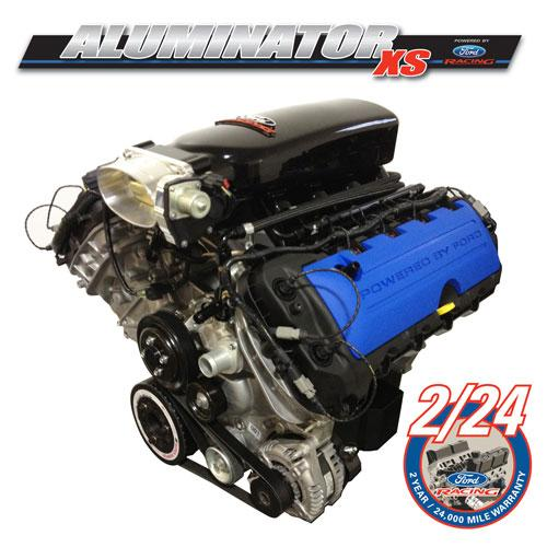 Ford Racing Mustang 5.0L Aluminator Xs Crate Engine  M-6007-A50XS