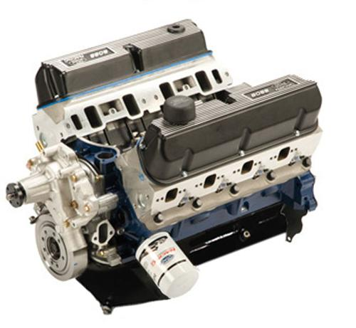 Ford Racing 363 Cubic Inch 500 Hp Boss Crate Engine W