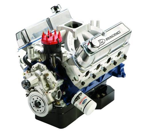 Ford Racing M-6007-S374w 374 Cubic Inch 540HP  Crate Engine w/Rear Sump