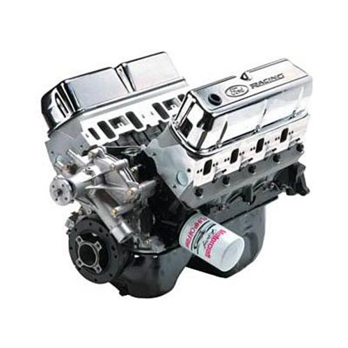 Ford Racing Mustang 302ci & 345 hp 5.0L Boss Block Crate Engine w/ E Cam (82-95) M-6007-X302E