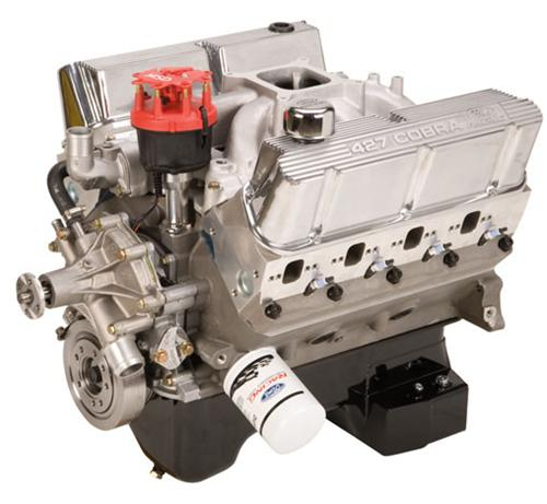Ford Racing Mustang 427 Cubic Inch 600 HP Aluminum Crate Engine w/Rear (79-95) M-6007-Z427ART