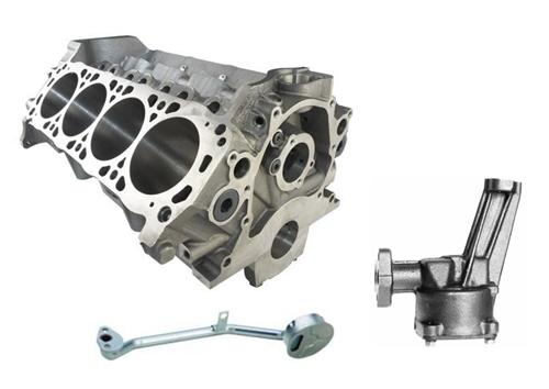 Ford Racing Mustang 5.0L Boss 302 Engine Block Kit (79-95)