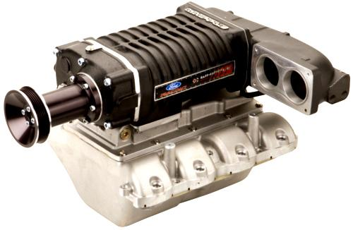 Ford Racing Mustang 2.3L Whipple Supercharger Kit - 550hp Black (2007) GT 4.6L M-6066-M117