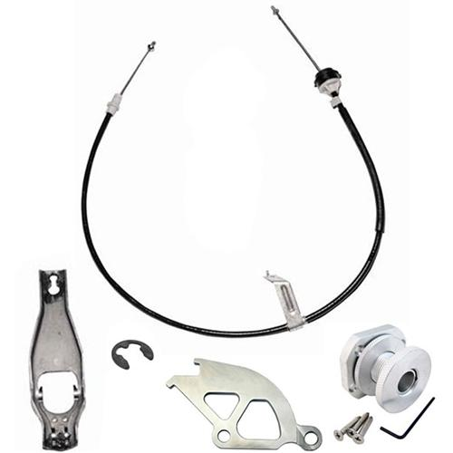 Ford Racing Mustang Complete Clutch Cable Kit (79-93) - Ford Racing Mustang Complete Clutch Cable Kit (79-93)