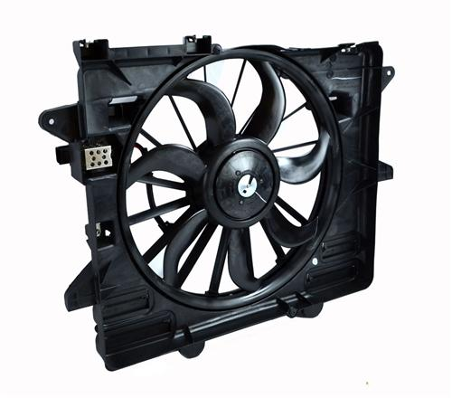 Ford Racing Mustang V8 Engine Cooling Fan Assembly Upgrade (05-14) M8C607MSVT