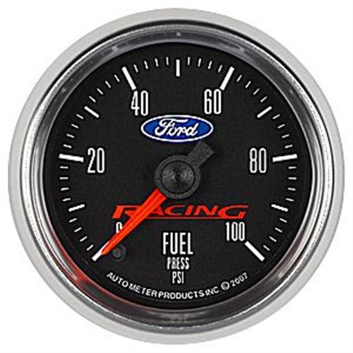 "Ford Racing 2 1/16"" Fuel Pressure Gauge M-9275-BFSE"