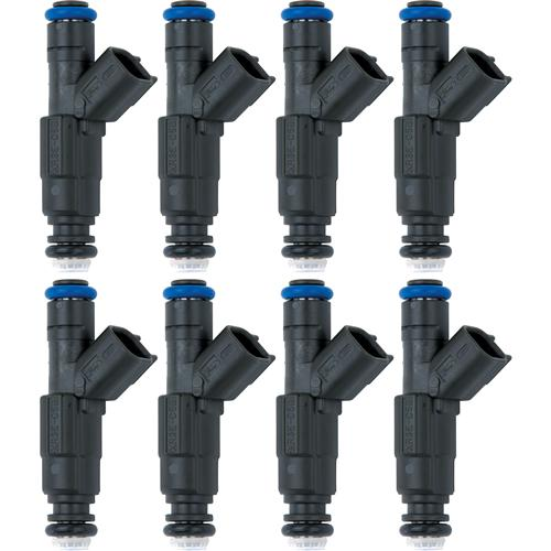 FORD RACING MUSTANG 39LB FUEL INJECTORS, SET OF 8 EV6 BODY WITH USCAR CONNECTOR, M-9593-M39