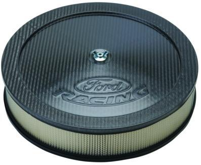 Ford Racing Mustang Air Cleaner with Ford Racing Logo Carbon Fiber  (79-85)
