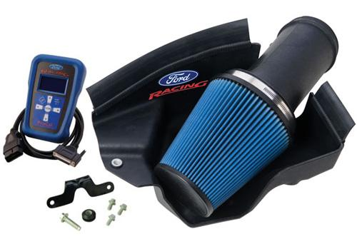 07-09 MUSTANG SHELBY GT500 FORD RACING COLD AIR INTAKE KIT W/ CALIBRATION & FACTORY GEAR RATIO, M-9603-SVT07