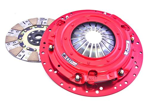 07-12 Mustang GT500 McLeod RXT Dual Disc Clutch Kit, includes billet steel flywheel, does not include release bearing - Picture of 07-12 Mustang GT500 McLeod RXT Dual Disc Clutch Kit, includes billet steel flywheel, does not include release bearing