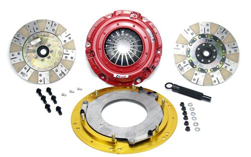2011-2014 Mustang 5.0L Coyote Mcleod Rxt Twin Disk Clutch Kit   - Picture of 2011-2014 Mustang 5.0L Coyote Mcleod Rxt Twin Disk Clutch Kit