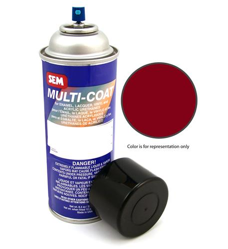 Mustang Ruby Red Vinyl Interior Paint (1993)