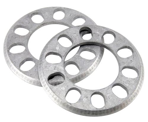 "ALUMINUM WHEEL SPACERS, 5/16"", PAIR"