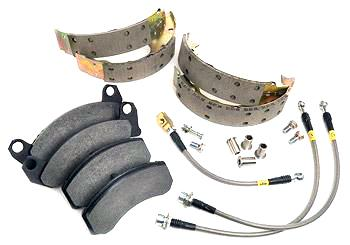 Maximum Motorsports  Mustang Brake Upgrade Package (87-93) - Maximum Motorsports  Mustang Brake Upgrade Package (87-93)