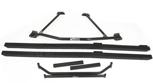 Mustang Chassis Brace Package Black (86-93) Coupe Hatchback
