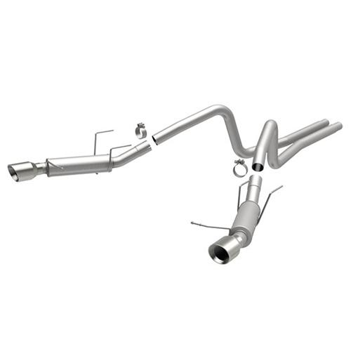 2013-14 Mustang v6 Magnaflow Competition Series Catback w/ 4'' tips