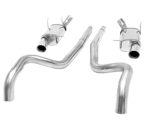 "Magnaflow Mustang 2.5"" Street Cat Back Exhaust System (11-14) V6 3.7L 15591 - Picture of Magnaflow Mustang 2.5"" Street Cat Back Exhaust System (11-14) V6 3.7L 15591"