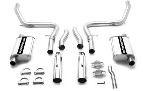 Magnaflow Mustang IRS Cat Back Exhaust Syste, Stainless Steel (99-04) Cobra 15644