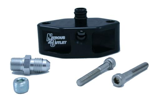 Nitrous Outlet Mustang Fuel Rail Adapter (99-04) 4.6