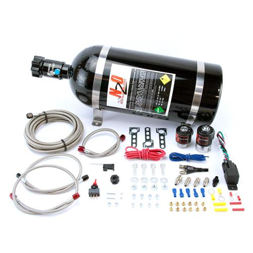 86-98 MUSTANG 5.0L/5.8L/4.6L EFI SINGLE NOZZLE WET SYSTEM NITROUS KIT, 35-150 HORSEPOWER