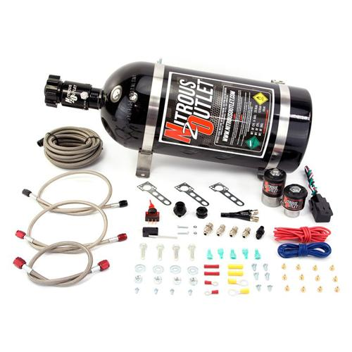 Nitrous Outlet Mustang Single Nozzle Kit (86-98) 5.0 5.8 4.6 00-10010 - Nitrous Outlet Mustang Single Nozzle Kit (86-98) 5.0 5.8 4.6 00-10010