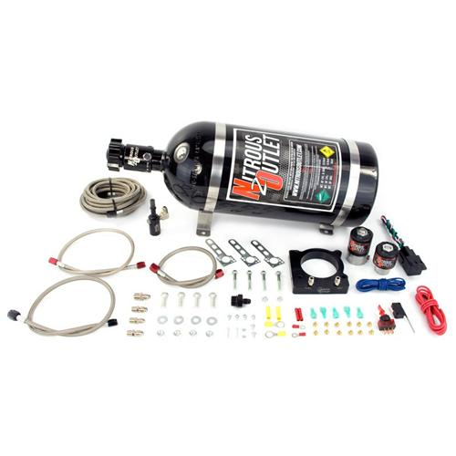 Nitrous Outlet Mustang Plate Kit (11-14) 3.7 00-10150