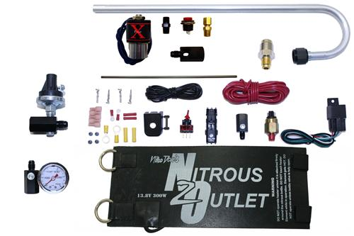 Nitrous Outlet Mustang Nitrous Kit Accessory Package (87-14)