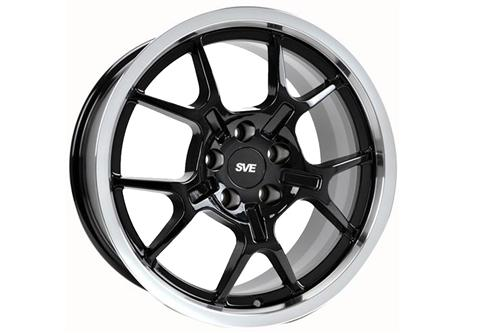 Mustang Ford GT Wheel - 18x9 Black (94-04) - Mustang Ford GT Wheel - 18x9 Black (94-04)