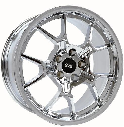 Mustang Ford GT Style Wheel - 18X9 Chrome (05-14)