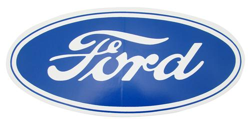 "9.5""X4.5"" Ford Oval Decal"