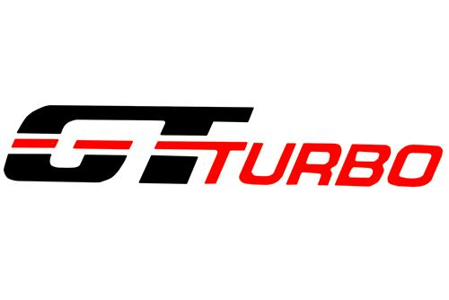 Mustang GT Turbo Fender Decal Black/Orange (83-84)