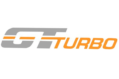 Mustang GT Turbo Fender Decal Silver/Orange (83-84)