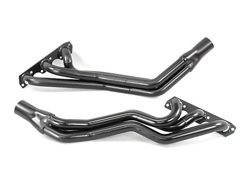 Mustang Pacesetter Long Tube Headers Black (01-04) 3.8
