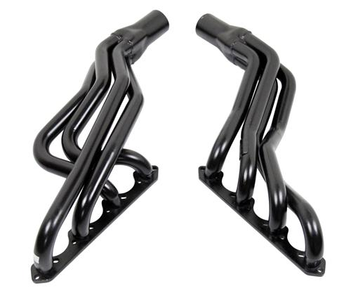 Pacesetter Mustang Long Tube Headers Black (94-95) 5.0 - Picture of Pacesetter Mustang Long Tube Headers Black (94-95) 5.0