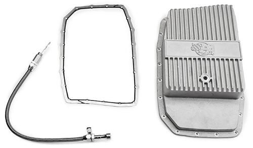 Mustang 6R80E Deep Aluminum Transmission Pan Kit (11-14)