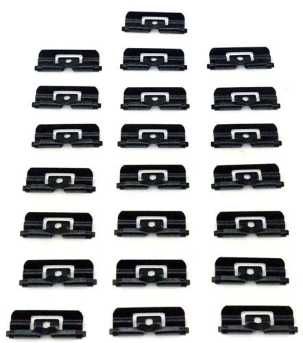 1979-93 Mustang Hatchback Rear Window Molding Clip Kit - 1979-93 Mustang Hatchback Rear Window Molding Clip Kit