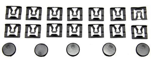 Mustang Coupe Rear Window Molding Clip Kit (79-93)
