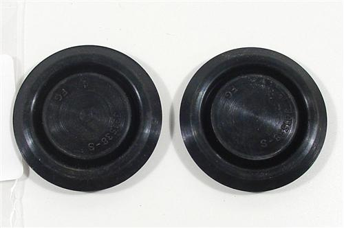 Mustang Rubber Plugs Under Rear Seat (79-93)