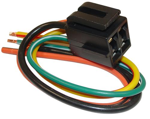 Mustang Blower Fan Speed Switch Repair Wiring Harness (79-86)