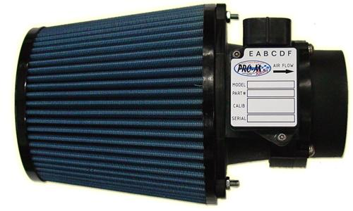 Pro-M Mustang 80mm Mass Air Meter & Air Filter For 24lb Injectors (89-93) 5.0