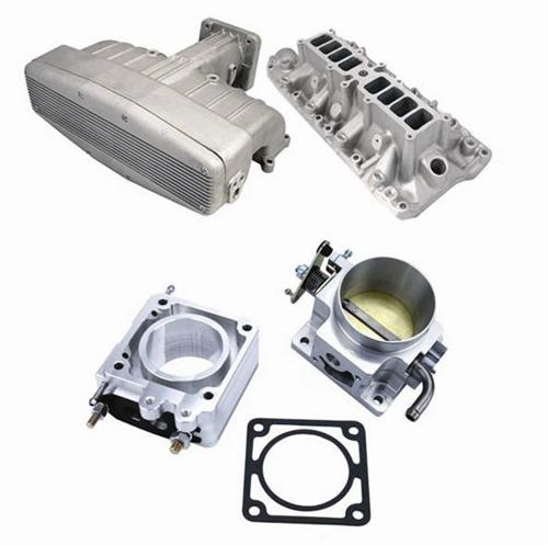 Professional Products Mustang Typhoon Intake Manifold, EGR Spacer, Throttle Body  70mm (86-93) 5.0 - Picture of Professional Products Mustang Typhoon Intake Manifold, EGR Spacer, Throttle Body  70mm (86-93) 5.0