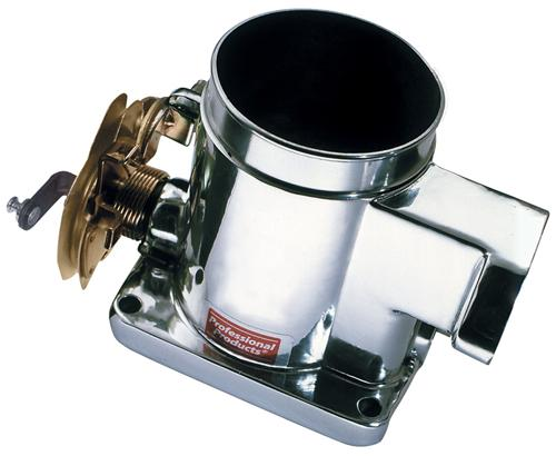 86-93 MUSTANG 5.0L 70MM POLISHED PROFESSIONAL PRODUCTS THROTTLE BODY