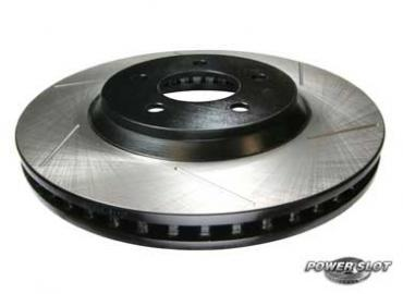 Mustang 4-Lug Slotted Front Brake Rotors (87-93) 5.0