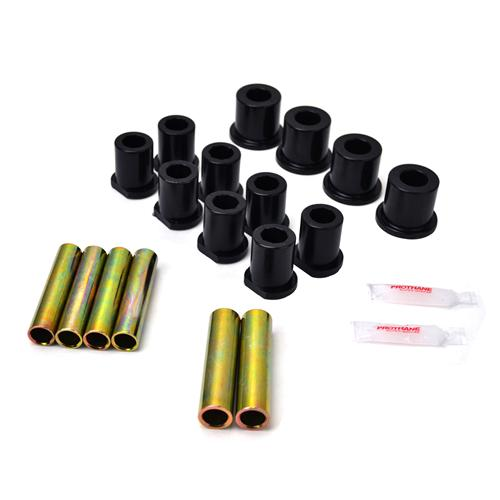 Prothane F-150 SVT Lightning Rear Spring & Shackle Bushing Kit (93-95)