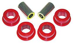 Prothane Mustang Rear Panhard Bar Bushings for Stock Bar Red (05-14)