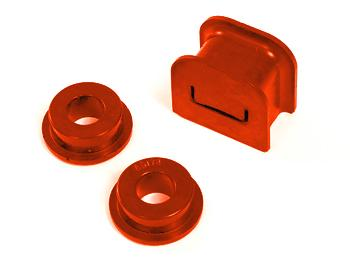 Prothane Mustang Shifter Bushing Kit (5-Speed) Red (05-09) GT 4.6L