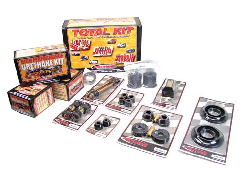 Prothane Mustang Total Bushing Kit w/ Transmission Mount (85-93)