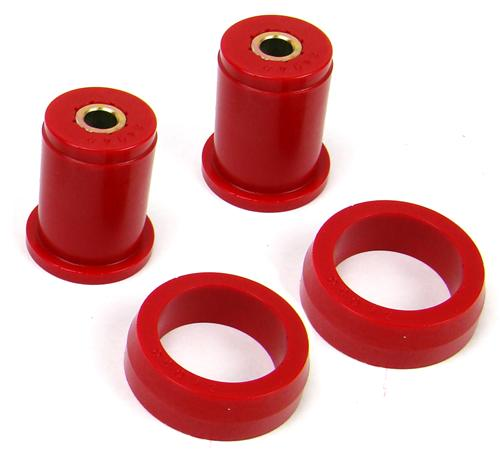 Prothane Mustang Rear Hard Compound Upper Axle Bushings Red (79-04)