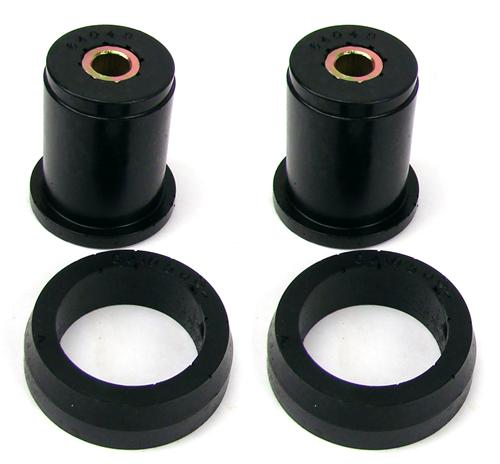 Prothane Mustang Hard Compound Rear Upper Axle Bushings Black (79-04)